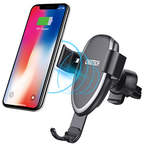 Choetech car air vent wireless charger mount