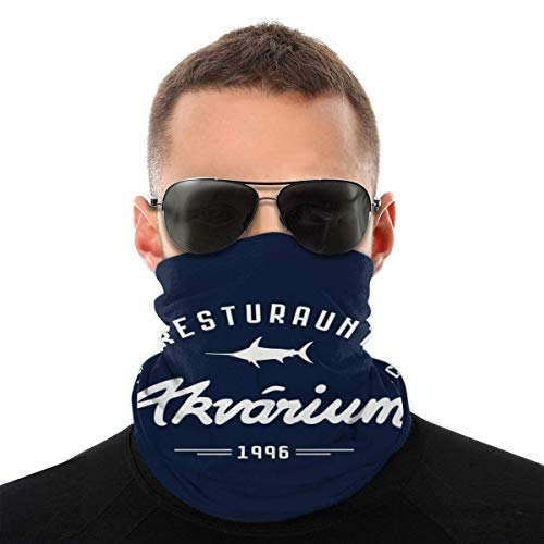 Teemoo Aquarium Restaurant Mission Unmögliche Vielfalt Kopftuch Gesichtsmaske Magische Kopfbedeckung Hals Gamasche Gesicht Bandana Schal