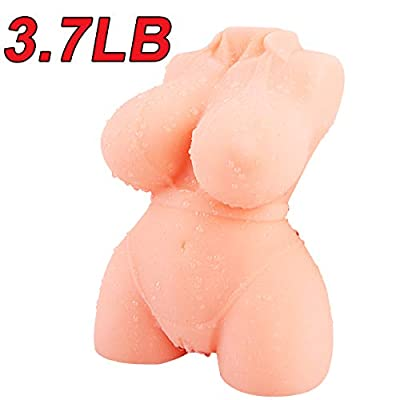 Realistic Adult Sex Doll with Inviting Vagina and Anal Opening, PALOQUETH 3D Lifelike Male Masturbator for Men from Soft Squeezable Silicone for Natural Suction 3.7lb