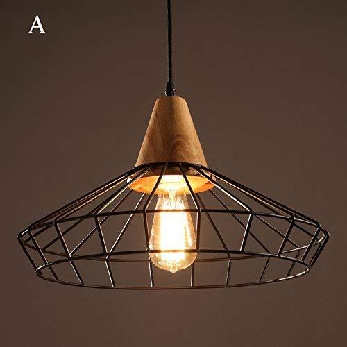Hanglamp van wit glas met moderne 1-lamp lampenkap en metaal in houtlook voor keuken restaurant schuren woonkamer hanglamp met verstelbare lamp (kleur: houtkleur)