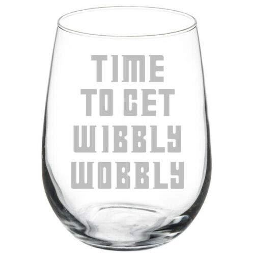 Copa de vino sin tallo de 17 onzas para mujer, regalo de cumpleaños para la madre de la capilla de la vida, divertida copa de vino sin tallo, divertido regalo para mejor amiga, familia
