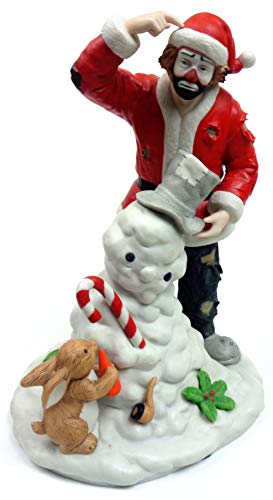 Spirit of Christmas IX - Emmett Kelly, Jr. Limited Edition Porcelain Clown Figurine w/ Original Box