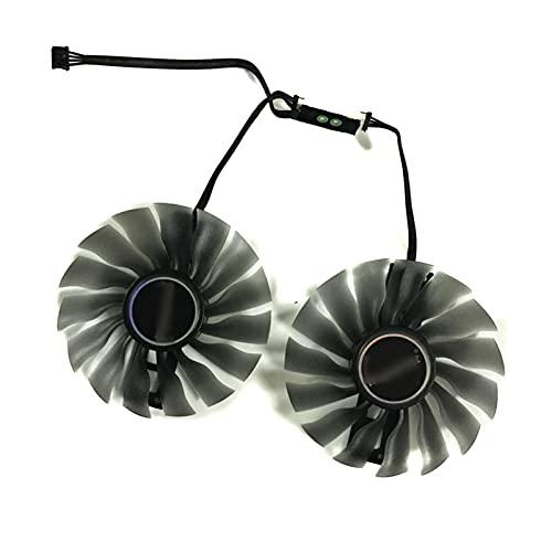 Jinyouqin 2 Teile/Satz 95mm (100mm) FD10015H12s Fan GTX1080 GTX1070 GPU-Kartenkühler für Palit GTX 1080 1070 Gamerock-Karten als Ersatz