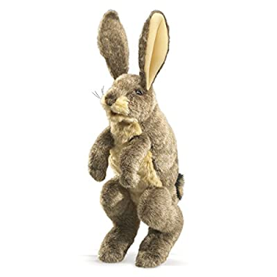 Folkmanis Jack Rabbit Puppet from FOLKMANIS
