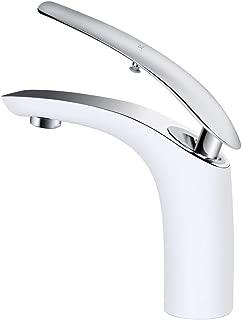 Derpras Bathroom Sink Faucet Unique Design Single Hole Single Handle Washroom Hot/Cold Basin Mixer Faucet