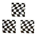 Open Wheel Indy Car Racing Checkard Flag Party Napkins (48)