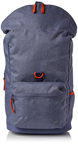Speedo Damen Ultra Fizz Backpack Tasche, Vita Grey/Hot Orange, 10 x 20 x 20 cm