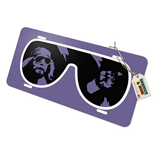 Graphics and More WWE Macho Man Classic Logo Novelty Metal Vanity Tag License Plate