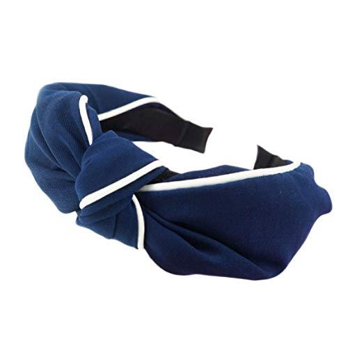 Huiyoo Superior Kwaliteit Womens Hoofdband Haarband Boog Knoop Knoop Knoop Knoop Fluweel Hoofddoek Haarband Hoop Nieuwe NV