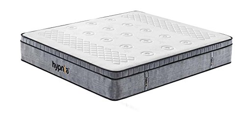 Hypnia Premium Memory Foam Pocket Sprung Mattress, King Size 5ft x 6ft6, 12 inch
