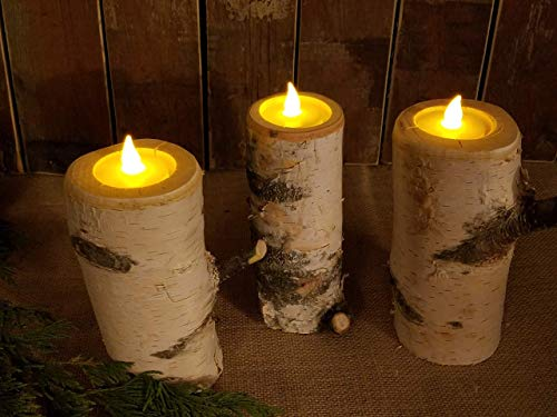 Wedding Birch candle holder, QTY of 1, 6
