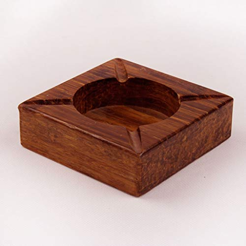 ZHJYHG Accesorios para Fumar/Cenicero Personalizado Regalos de Empresa Personalizados Grandes creativos Bambú Pesado Moda bambú