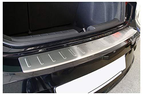 tuning-art 619 Limo Edelstahl Ladekantenschutz mit Abkantung Fahrzeugspezifisch