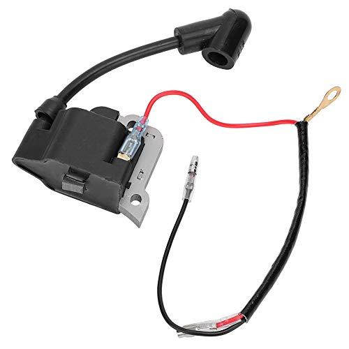 Bobina de encendido Hoja de acero de silicio Alto voltaje Durable Adecuado para accesorios de motor de motosierra HondaGX35 Módulo de encendido de bobina