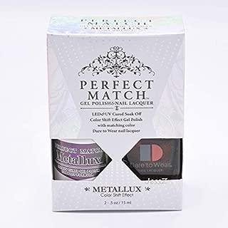 Lechat Perfect Match Gel Polish + Nail Polish Metallux Collection MLMS09 Anubis