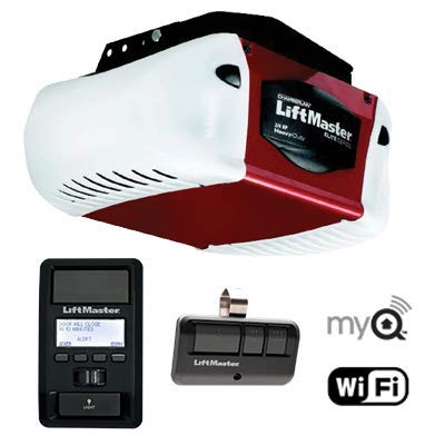 Best Prices! Garage Door Parts - (Complete Unit with Rails) 7' Liftmaster 8587 Elite Series 3/4 Hp C...