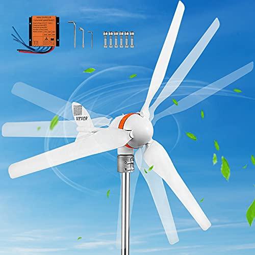 VEVOR Wind Turbine Generator, 12V/AC Wind Turbine Kit, 400W Wind Power...