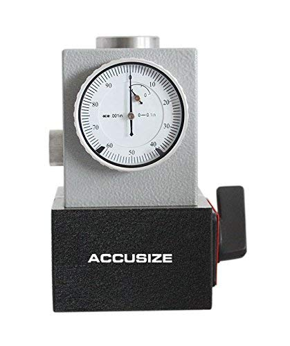 Accusize Industrial Tools 0-0.1'' Fees free by Magnetic 0.001'' Base Cheap sale with