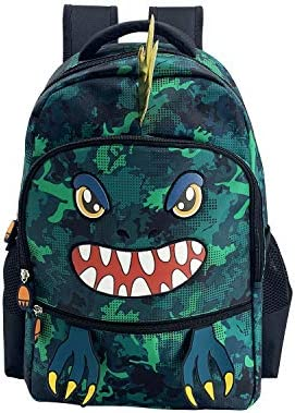 HiFenly Kids Backpack Perfect Size Book bag for Kindergarten and Elementary School Dinosaur product image