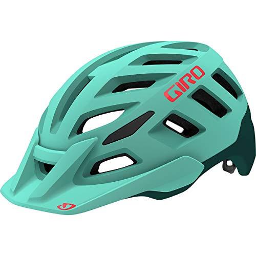 Giro Damen Radix W MIPS Fahrradhelm Dirt, Matte cool Breeze/True Spruce, S (51-55cm)