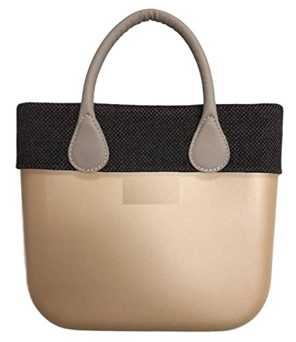 Trim Bordüre Brown&Black - für O Bag Mini
