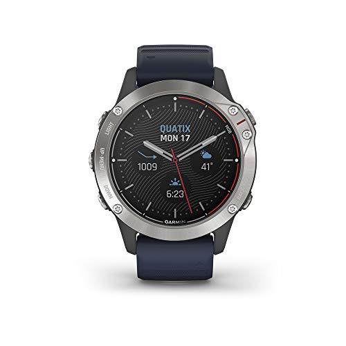 Garmin quatix 6 Multisport Marine Smartwatch, Comprehensive Boat Connectivity,Model Number: 010-02158-90