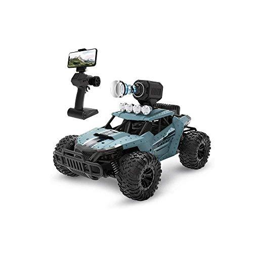 Control remoto Coche de juguete 1/16 Escala Off-Road Camión de control remoto Todo terreno Coche de control remoto con cámara 720P HD Camiones monstruo de alta velocidad RC Cars para adultos Regalo p