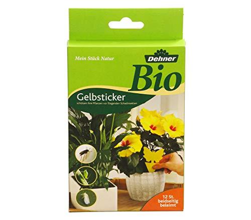 Dehner Bio Gelbsticker zur Schädlingsbekämpfung, 12 Stück