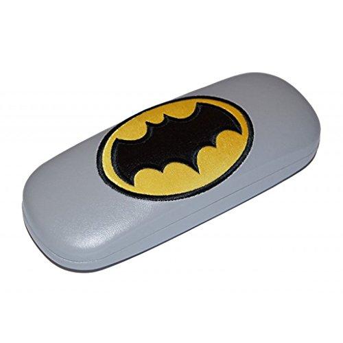 'Divertida Funda de gafas para niños'Batman con bisagras de metal en negro o gris gris