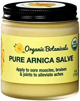 Organic Botanicals Pure Arnica Salve Sore Muscle Joint Relief Cream for Stiffness Aches Bruising product image