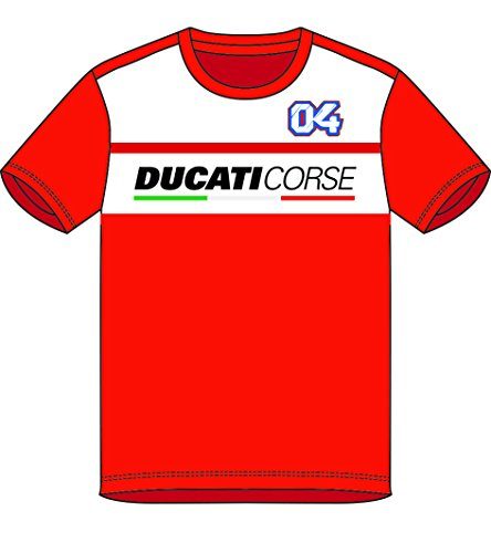 Pritelli 1836019/XL Herren-T-Shirt Ducati Rense Andrea Dovizioso Corse 04, Größe XL