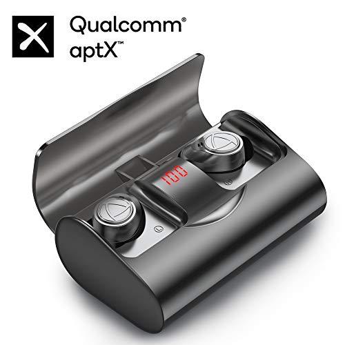Bluetooth Kopfhörer In-Ear, IHOUMI Drahtloses Bluetooth 5.1 Sport Headset,Premium Klangprofil mit intensivem Bass, 144 Stunden Spielzeit, HD Anrufe, HiFi-Stereoanlage,IPX7 wasserdicht, Touch-Steuerung