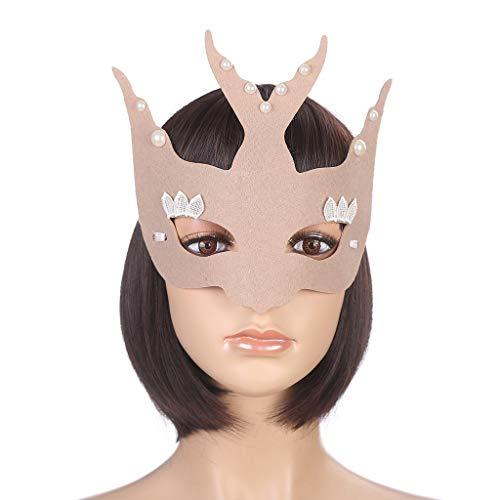 Kreative Schwalbe Modellierung Millionen Weihnachten Maskerade Halbgesicht weibliche Maske Foto Fotografie Leistung liefert