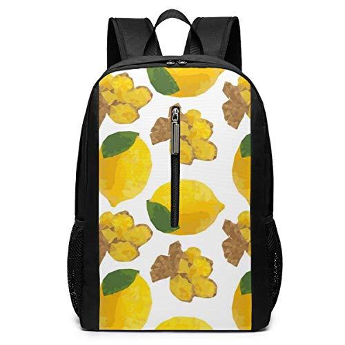 Borsa del portatile Lemon Laptop Backpack 17-inch Laptop Backpack for High School Or College bookbag
