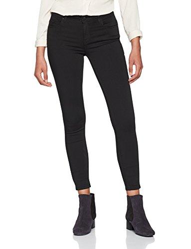 ONLY NOS Damen Skinny Jeans Onlcarmen Reg SK BLACK4EVER SOO1796 Noos, Schwarz (Black Denim), W27/L32