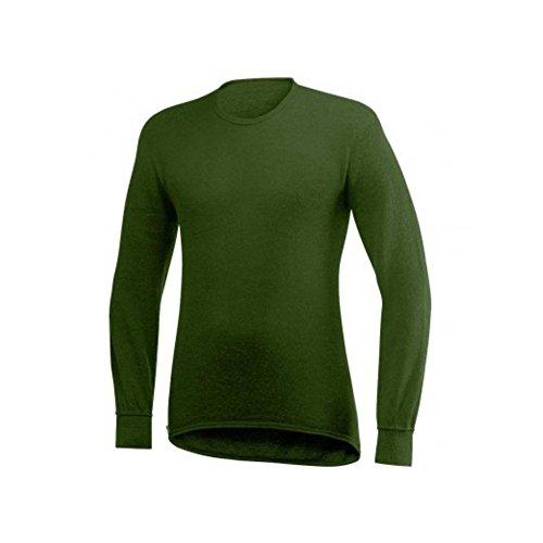 Tee Shirt Militaire ullfrotté ML Kaki - M