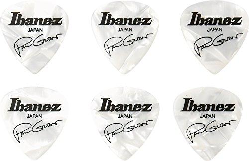 Ibanez B1000PG-PW Plektren Signature Modelle Paul Gilbert (6 Stück)