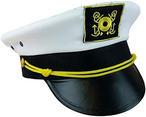 Funny Party Hats Captain Hats Yacht Captain Hat Bachelorette Nautical Theme Bachelor Cruise Ship Hats