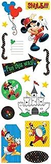 Foil 3-D THEMEPARK Disney World Sticker Sheet
