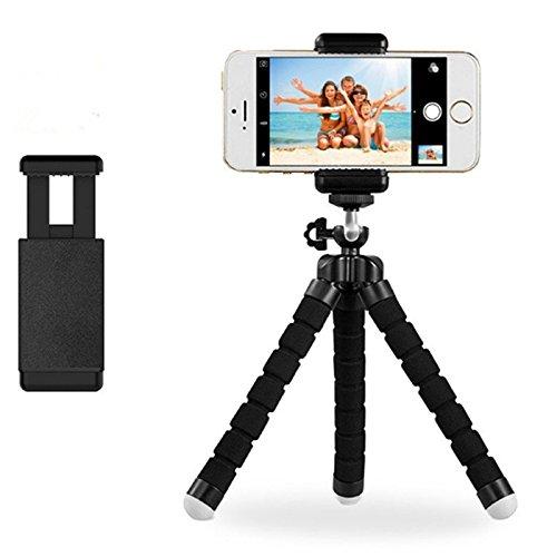 Safetysale Handy Stativ Flexibel, iPhone Stativ, Samsung Stativ für Gopro, iPhone, Samsung, Huawei, Android, iOS