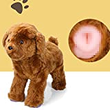 Pet Dog Partner Toy for Male Estrus Dog,French Bulldog Anxiety Relief Toys,Teddy Sleeping Toy with Interactive Sound Sex,Chihuahua Puppy Dog Dummy Funny Vent Toy,Plush Doll Bride for Dog Wedding Gift