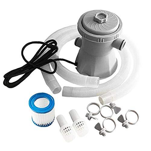 Pool Filterpumpe Elektro-Pool Filter Kit Reinigung Werkzeug-Satz 300 Gallon Above Ground Eu-stecker Multifunktionspumpe