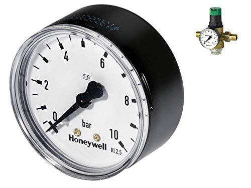Ritzer by Honeywell: Manometer mit Anschluß 1/4 Zoll Gewinde hinten, 1/4