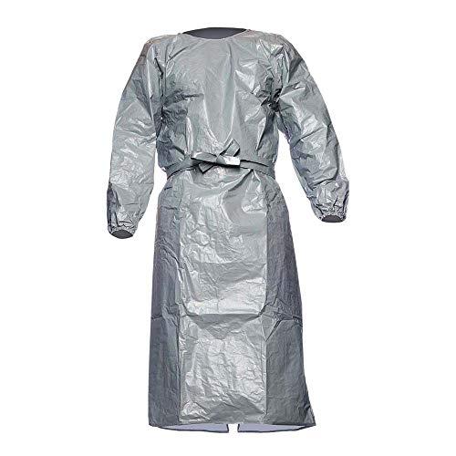 DuPont Tych-F-Go_L-XXL Schützend Kleid, Grau/Stahlblau, L-XXL Größe