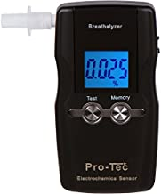 Pro-Tec X2000 breathalyzer | Portable Professional Grade Blood Alcohol screening Device | DOT and NHSTA Approved FDA 510(k) Cleared | Breath Meter