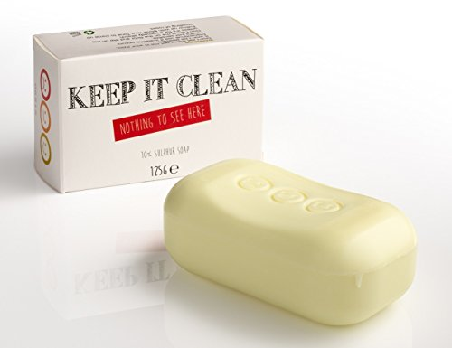 Keep it Clean - 10% Schwefelseife - whytheface