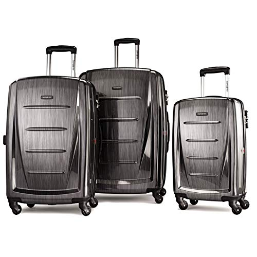 Samsonite Winfield 2 Hardside Luggage, Charcoal, 3-Pc Set (20/24/28)