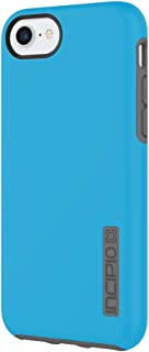 Incipio DualPro iPhone 8 & iPhone 7/6/6s Case with Shock-Absorbing Inner Core & Protective Outer Shell for iPhone 8 & iPhone 7/6/6s - Cyan/Charcoal