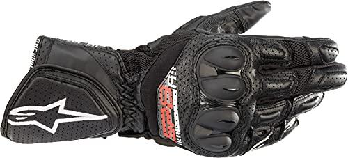 Alpinestars Motorradhandschuhe kurz Motorrad Handschuh SP-8 V3 AIR Sporthandschuh schwarz XXL, Unisex, Sportler, Ganzjährig, Leder