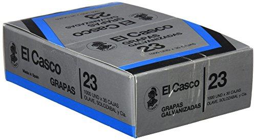 El Casco 1G00231 - Pack de 30 cajas de grapas
